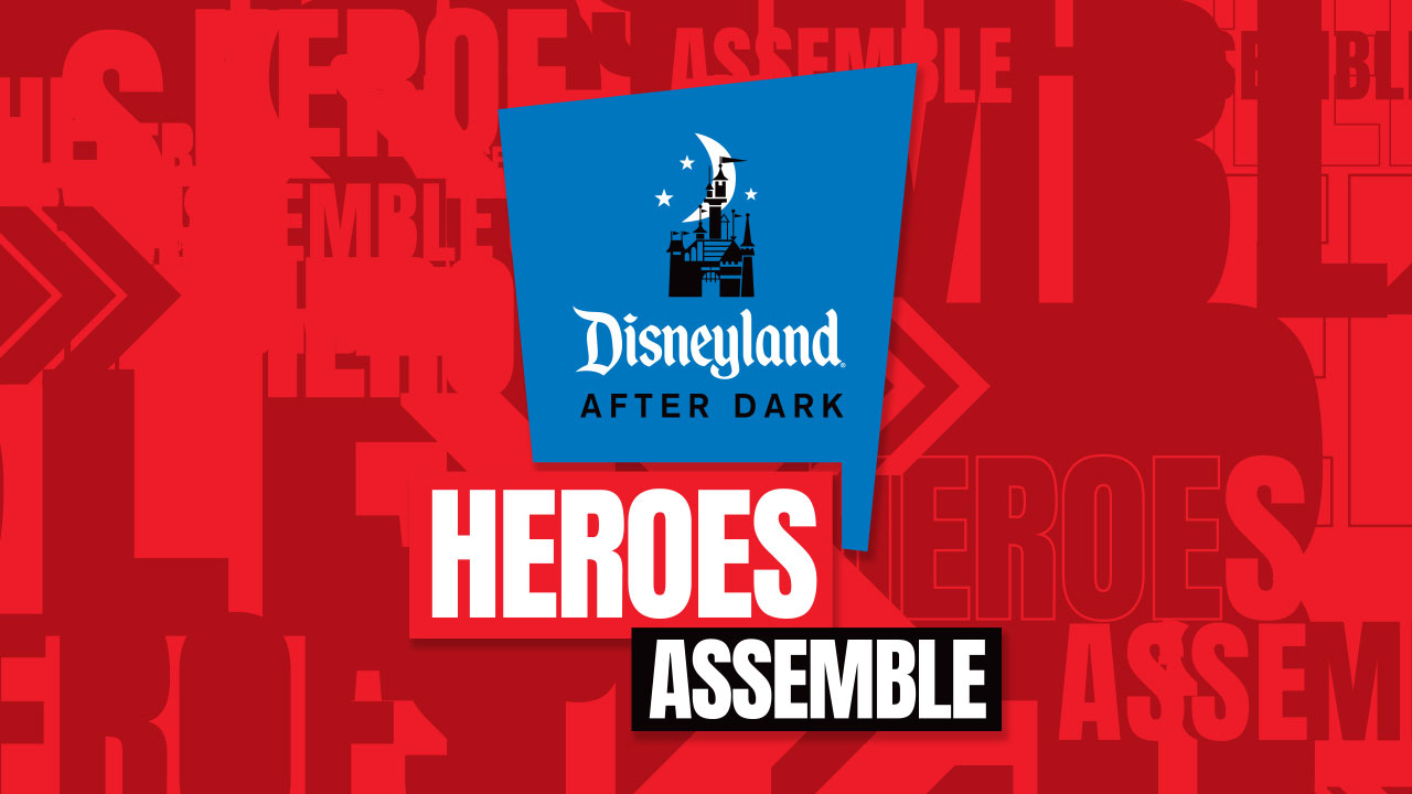 Disneyland After Dark: Heroes Assemble poster