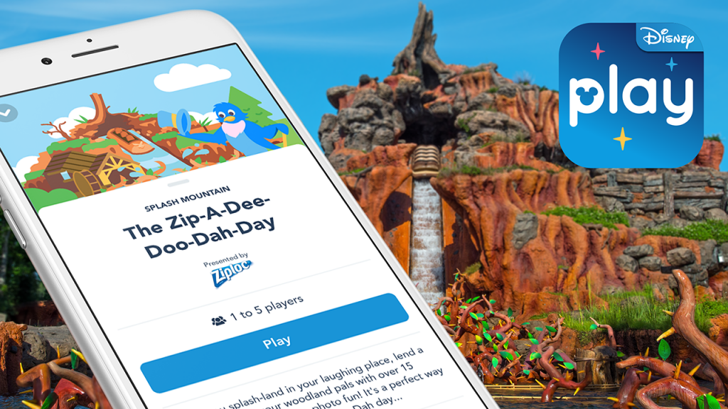 Play Disney Parks App Rolls Out New Experiences for Splash Mountain and Kidcot Fun Stops