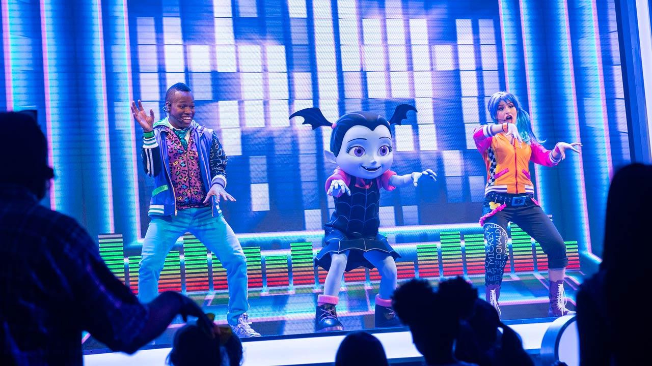 Vampirina at Disney Junior Dance Party