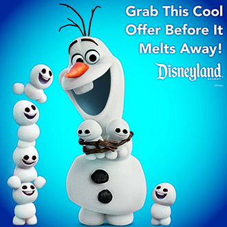 Disneyland Resort - Grab this cool offer before it melts away!