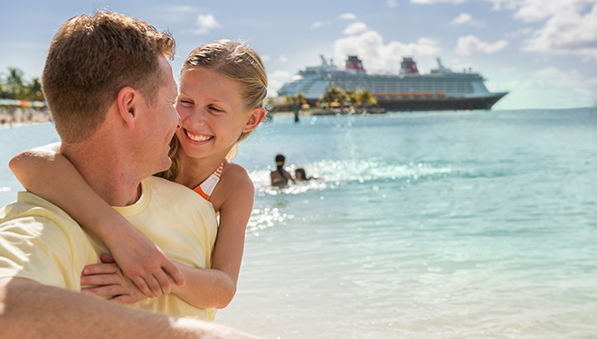 Disney Cruise Line - Guests at Castaway Cay