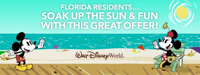 Florida Residents! An offer so good, you're sure to have a ball.