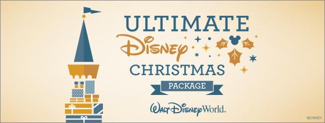 Walt Disney World Resort Ultimate Disney Christmas Package