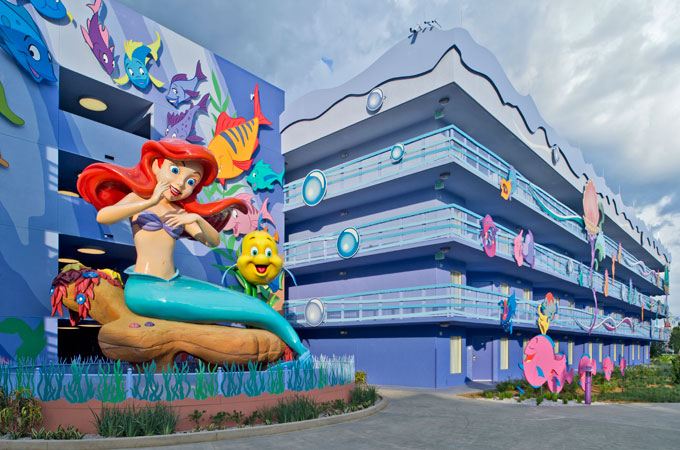 Image result for disney world hotels art of animation