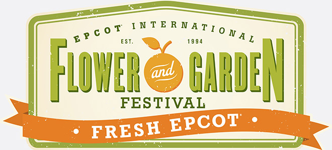 Epcot International Flower & Garden Festival Logo