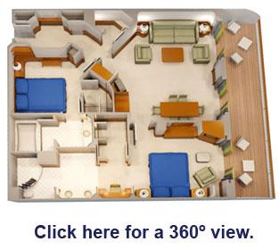 Disney Cruise 2 Bedroom Suites | www.stkittsvilla.com